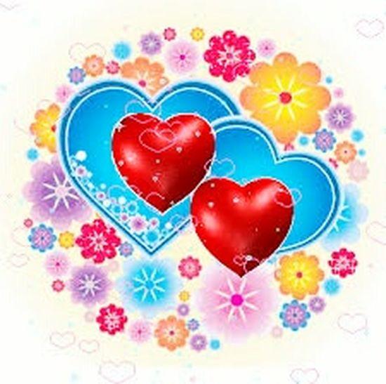 сердечко Heart Shape Love Valentine's Day - Holiday Shape Red Food And Drink Blue Defocused Multi Colored Sweet Food No People First Eyeem Photo