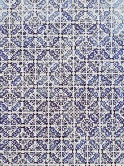 Azulejos Portugal Backgrounds Full Frame Pattern Textured  Close-up Mosaic Abstract Tile