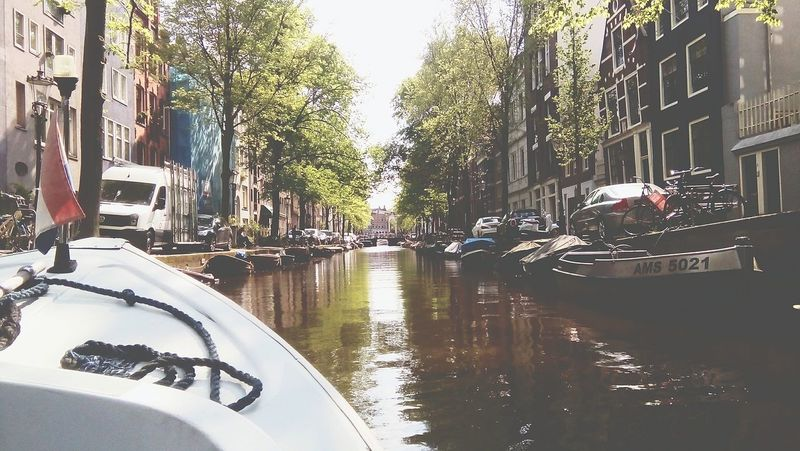 Workingintheworld Livingintheworld Amsterdam Netherlands Water Transportation Grachten