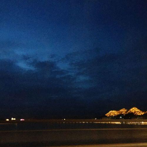 Sky Night Cloud - Sky Illuminated Scenics - Nature Nature Water