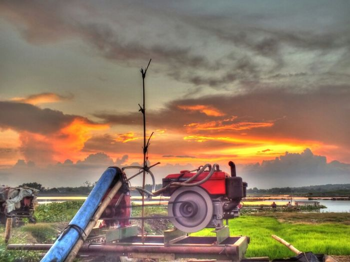 Wasting time Sky Landscape HDR Cloud Panorama Eye4photography  Sunset