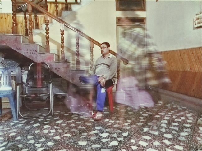 Ghost in real life. Without effect. Real human. Creative Light And Shadow Glitch Photos That Will Restore Your Faith In Humanity