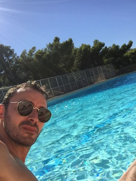 Last week on pool for the last moment ... Pool Summer Almostdone South Of France