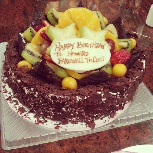 The cake ~