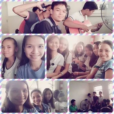 Choral Practice while ago ? (c) to ate @shainess_31 ? ganda ng boses! ?