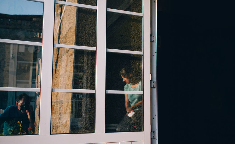 window selfie An Eye For Travel Adults Only Architecture Day Hikinggalicia One Person Outdoors People Real People Reflection Selfie Window Enjoy The New Normal