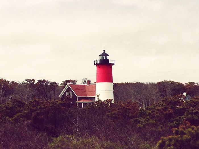 Lighthouse Nature Cape Cod The Atlantic Ocean Sky Red Trees DOPE Massachusetts Beach Historical Building History Isaac First Eyeem Photo