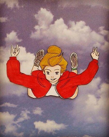 Cloud - Sky Sky Child People Day Nubes Volar Aprenderavolar