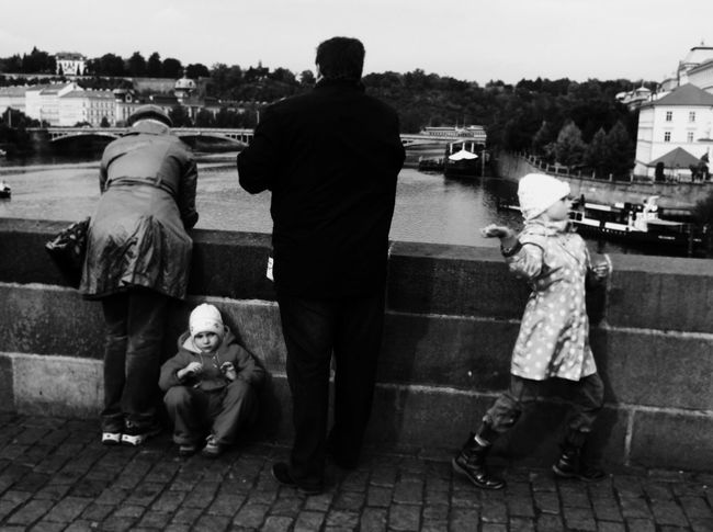 EyeEm In Prague Mission Prague Visual Witness Shootermag People Watching Streetphoto_bw RePicture Travel Shades Of Grey