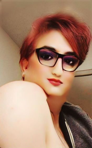 The other me - looking over my shoulder. Sensual_woman Posing Exotic Shoulder EyeEm Selects Faceapp Self Portrait Male To Female Drag Lifestyles Alluring  Young Women Portrait Beautiful Woman Beauty Eyeglasses  Dyed Hair Eyelash Fashion Dyed Red Hair Redhead Red Lipstick Lip Gloss Mascara Blush - Make-up Eyebrow Eyeliner Eyeshadow Eye Make-up Lipstick