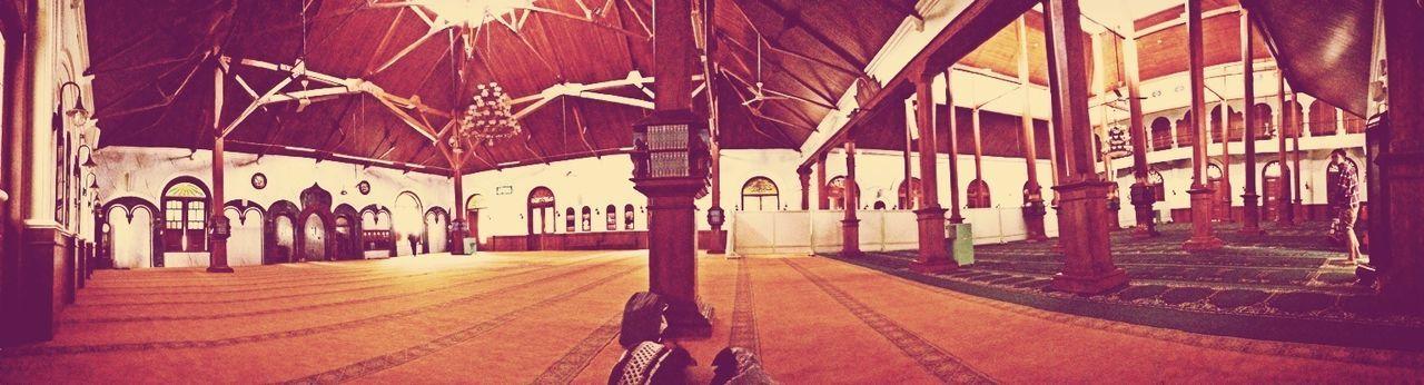 Mosque Malang Praying