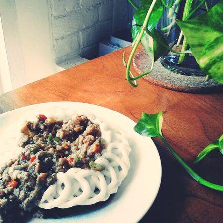 Kerupuk banjur Makanan Indonesia masakan indonesia