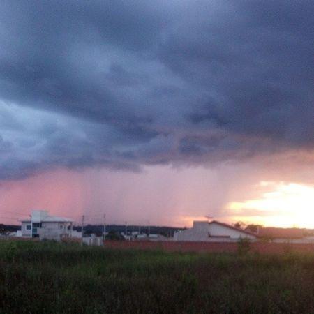 Chuva. Cacoal Tempestade Sunset