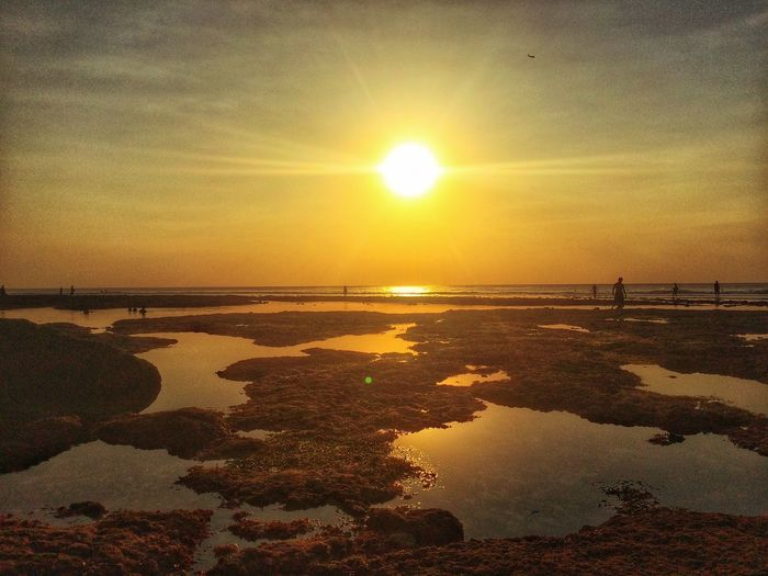 EyeEm Indonesia HDR Nature Beach Sunset Photography EyeEm Best Edits Vscocam Sky And Clouds