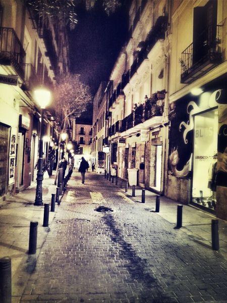 Night City Night Lights Urban Life Madrid Urban Landscape Movilgrafias Galaxy Note 2 Graphic Nature