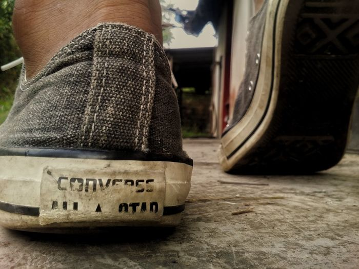 One Person Converseallstar Converse All Star Adults Only
