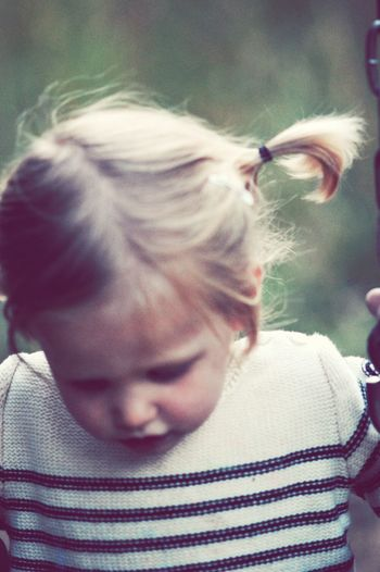 love little pigtails First Eyeem Photo