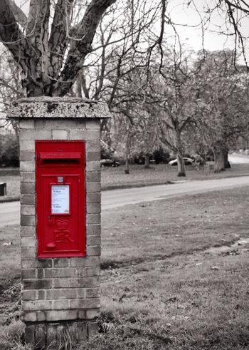 Thetford post box! Old natural beauty! Thetford Postbox Red Letterbox First Eyeem Photo