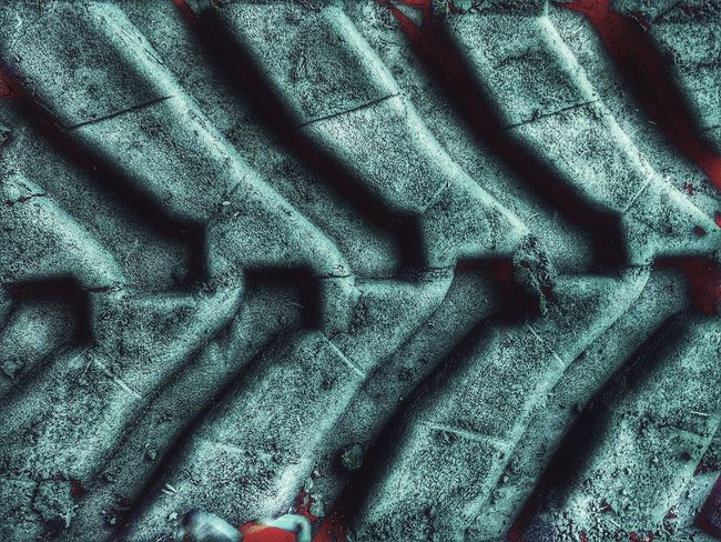 Full Frame Backgrounds Textured  Close-up Strength Metal Connection Pattern Selective Focus The Past Extreme Close-up Man Made Object Weathered No People Patterned Extreme Close Up Check This Out Outdoors Skidmarks Tire Luxxxs Hello World From My Point Of View EyeEm Best Edits Art