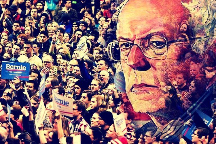 Bern Bernie For President Bernie Sanders Democratic Socialism Letf-wing Political Revolution PROGRESSIVE
