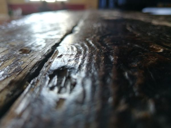 Aged wooden stage Wood - Material Textured  Wood Grain Close-up Knotted Wood Wooden Hardwood Floorboard Wood