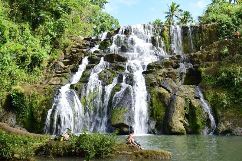 #refreshing @landscape @nature Forest Long Exposure Splashing Waterfall