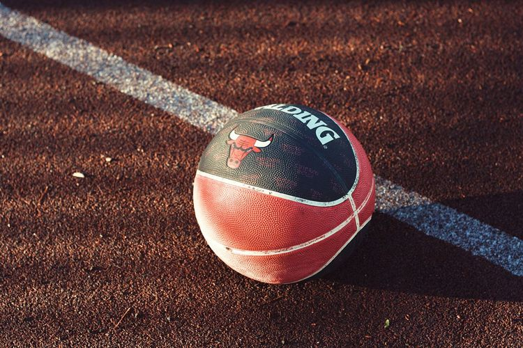 Basketball Basketball Sport Road Ball Single Object Sunlight Day No People Asphalt Sphere Tennis Close-up Sports Equipment Playing Field Outdoors Shadow High Angle View Nature Court Motion Baseball - Sport