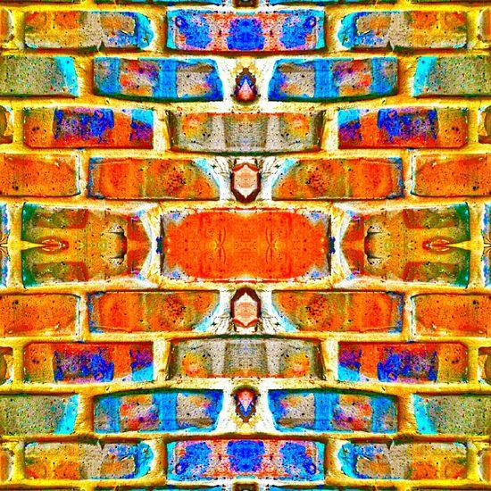Colors Of Carnival Patterns Showcase: February Female Photographer Brickwork  Taking Photos Pretty Colours Femalephotographer Pattern Pieces Pebbles Pattern ❤Bliss❤ Nikonphotography Backyardphotography Nikonl840 Patternseverywhere Lake Macquarie Australia