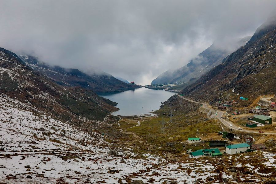 "Made in Heaven This is the famous Lake Tsomgo @Sikkim, North East India. It is also known as Changu Lake. The lake is the venue for the Guru Purnima festival. Tsomgo means ""Source of the Lake"" and hence is held in great reverence by the local Sikkimese people. There is also a small Shiva temple on the bank of the lake. Beauty In Nature Cold Temperature Day EyeEm EyeEm Best Edits EyeEm Best Shots EyeEm Best Shots - Nature EyeEm Gallery EyeEm Masterclass EyeEm Nature Lover EyeEmBestPics Eyeemphoto Eyeemphotography F/∞ Lake Landscape Mountain Mountain Range Scenics Sohillaad SohilLaadPhotography Tranquil Scene Tranquility California Dreamin"