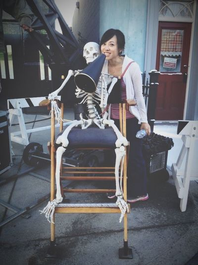 Cinema In Your Life and action!!! Oh...guess there won't be much action going on here with a Skeleton 😂😂 Universal Studios  Los Angeles, California USA USAtrip Reminiscing ThatsMe Me, Myself And I Narcissistic Tendencies Lasian Goofy Being Silly The Portraitist - 2016 EyeEm Awards