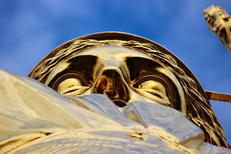 Architectural Feature Berlin Blue Close-up Day Focus On Foreground Goldelse Ornate Part Of Sky Tourism Travel Destinations