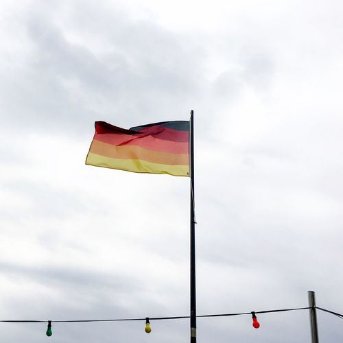 Germany stays multicolored! #wirsindmehr Germany Sky Flag Cloud - Sky Wind Nature Environment Multi Colored No People Waving Overcast Freedom National Icon Germany Sky Flag Cloud - Sky Wind Nature Environment Multi Colored No People Waving Overcast Freedom National Icon