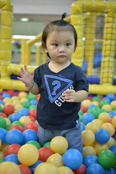 Asian  Asian Baby  Babies Baby Balls Eyeem Philippines Fun Kids Being Kids Play Playground Playground Fun Playing Playpen Playtime Todler Youth