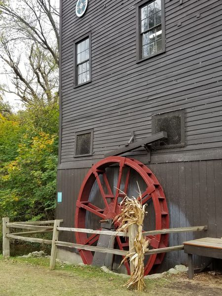 Water Wheel No People Watermill Day Architecture Outdoors Building Exterior Built Structure Sky