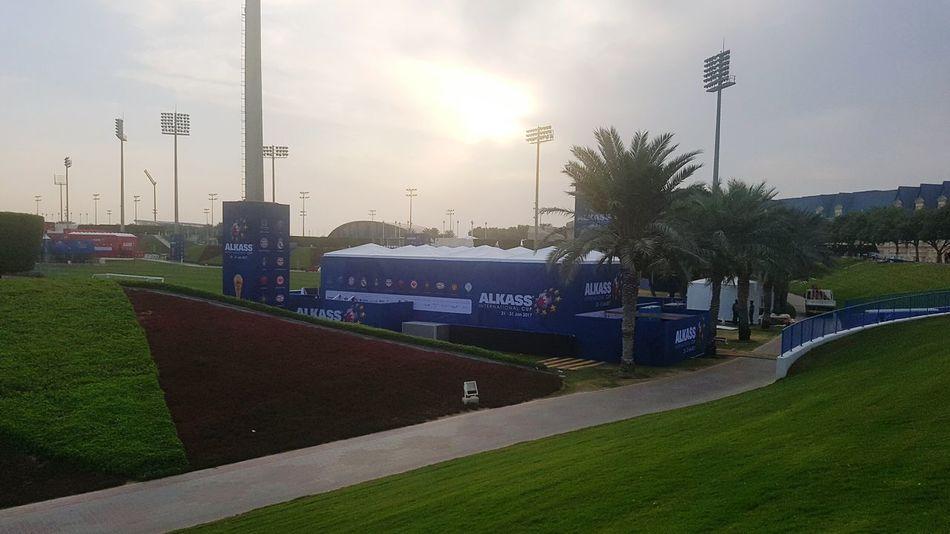 Cloud - Sky Sport Outdoors Branding Brand Expression Alkass International Cup 2017 Alkass International Cup