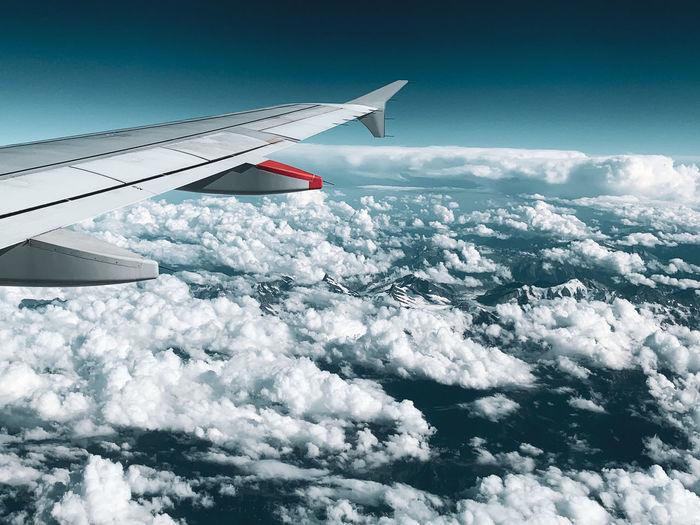 Flight above the matterhorn switzerland
