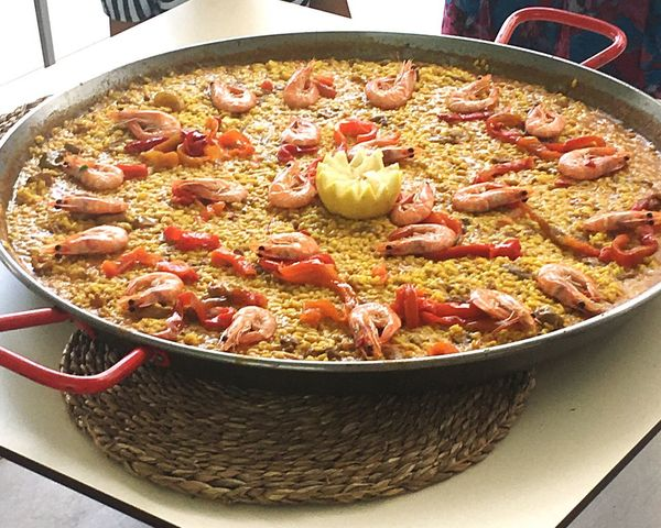 Paellas Food And Drink Food Indoors  Freshness No People Italian Food Vegetable Spain ✈️🇪🇸 Healthy Eating The Week On EyeEm Eyemphotography Bowl Domestic Room Ready-to-eat Close-up Casserole Day Comfort Food