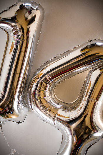 number 14 14 Balloons Close-up Day Helium Balloon High Angle View Indoors  Music Musical Instrument No People Number