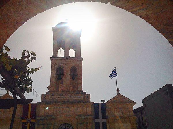 Kolimbary Crete Greece Monastery Holy And Great Council Of Orthodox Church