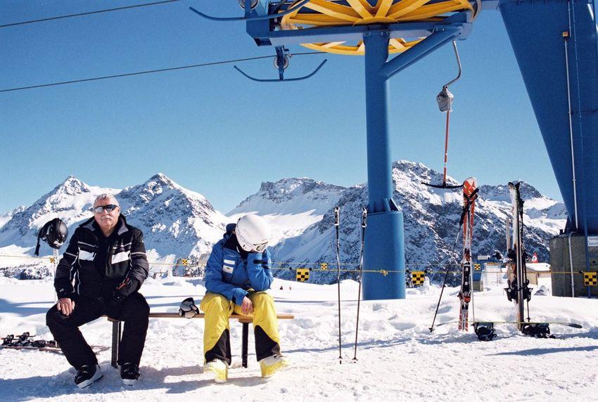 35mm Film Buyfilmnotmegapixels Ishootfilm Filmisnotdead Travel Snow Winter Mountain Mountain Range Winter Sport The Traveler - 2018 EyeEm Awards Ski Holiday Skiing