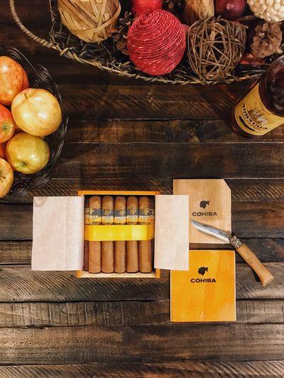Cohiba Cigar Cubancigar Robustos Opinel