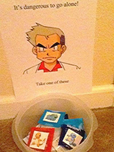 Professor Oak Has Your Back
