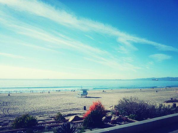 Enjoying The Sights On A Stroll Relaxing Beach