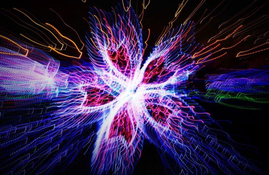 2018.4.21 EyeEm Motion Illuminated Multi Colored Long Exposure Glowing No People Night Light