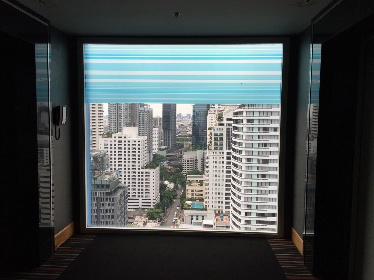 window, architecture, indoors, skyscraper, built structure, building exterior, day, city, no people, cityscape