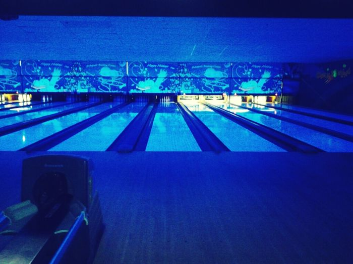 #strikingout at cosmic bowling