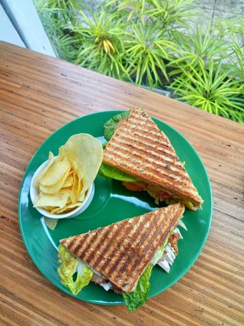 Commune Club sandwich at Commune Cafe in Makati, Philippines Food And Drink Healthy Eating Food Plate Freshness Sandwich Sandwiches Club Sandwich Foodstagramming Foodporn Foodspotting Food Photography Food Styling Foodgasm Food And Drink Industry Cafe EyeEmNewHere