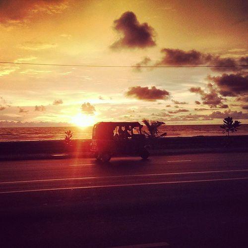 Sunset Justclick Notapro Littlelover natureloverpleasantmindwindytuktukpasses bysnapshotwohooinstamoodsoiuploadinstagrampicoftheeveningcloudshorizonbeautifulworldhotballsunnysettyhtconecameraultrapixeldeliciousmagnifuque