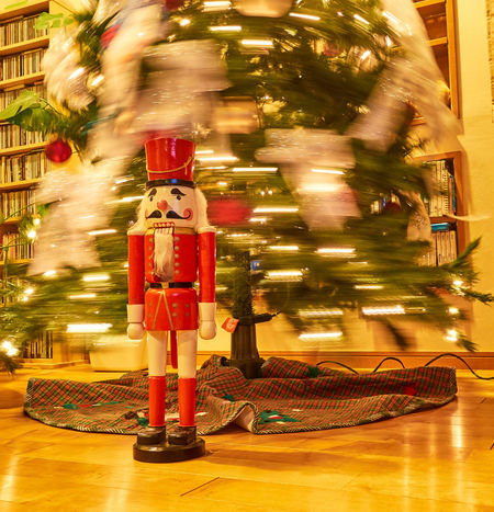 Christmas Christmas Lights Nutcracker Architecture Blur Motion Blurred Motion Carousel Christmas Decoration Christmas Tree Christmastime Illuminated Indoors  Motion Night No People