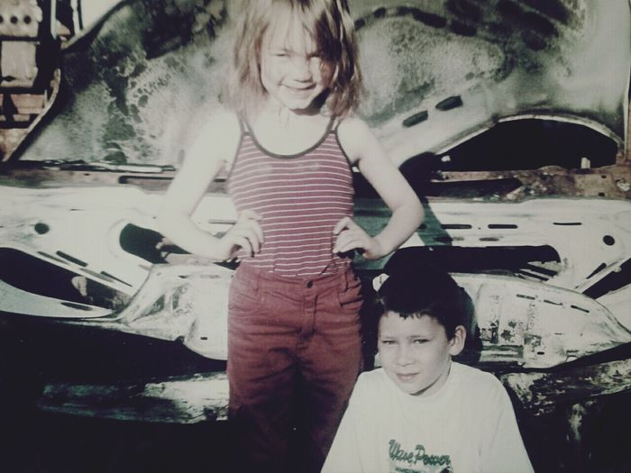 Love♥ my brother and i hihi old but gold *-*